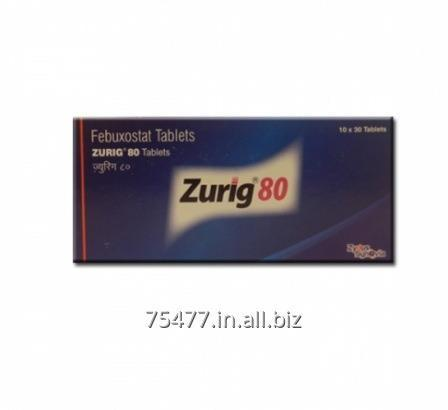 Buy Osteoporosis / Arthritis Febuxostat Tablets Zurig 80