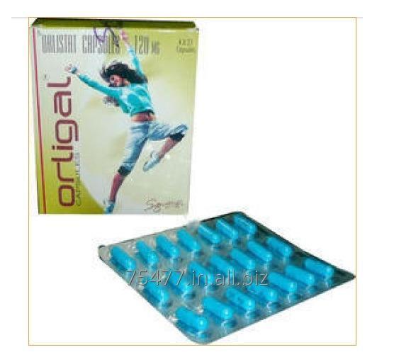 Buy Orligal Orlistat (Tetrahydrolipstatin) Capsules