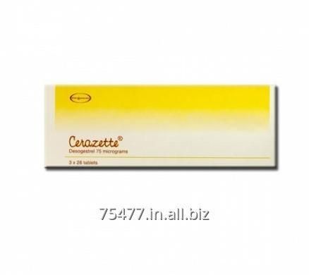 Buy Cerazette - Desogestrel 75mg Tablets