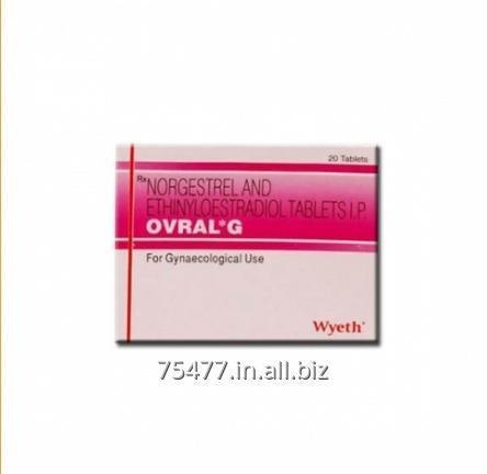 Buy Ovral G (Ethinyl Estradiol 0.05 mg