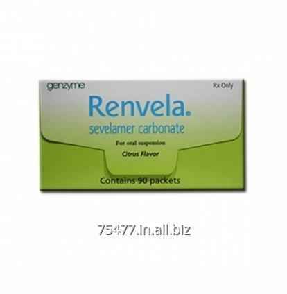 Buy Kidney Disease Medicine ----- Renvela - Sevelamer Carbonate Tablets