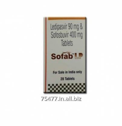 Buy Sofab LP Sofosbuvir Lediapasvir Tablets
