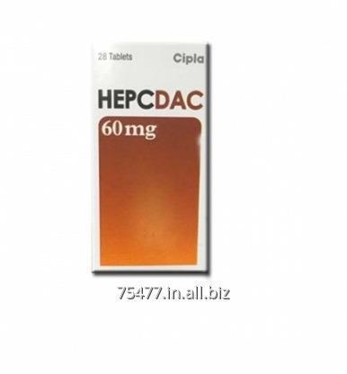 Buy Hepcdac 60mg Daclatasvir Cipla