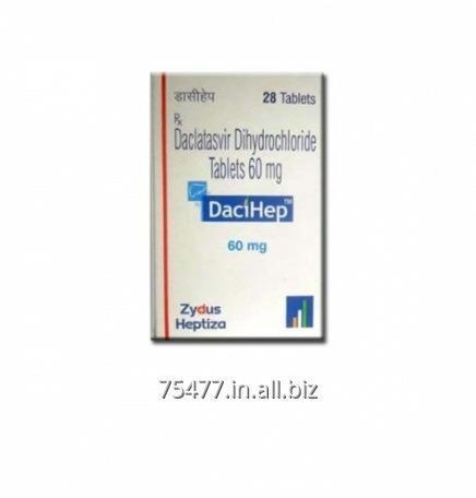 Buy DaciHep Zydus Daclatasvir Tablets