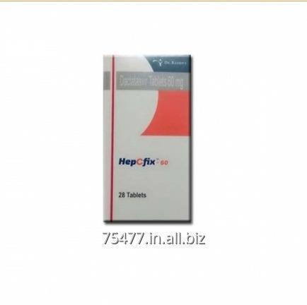 Buy HepCfix Daclatasvir 60 mg Tablets
