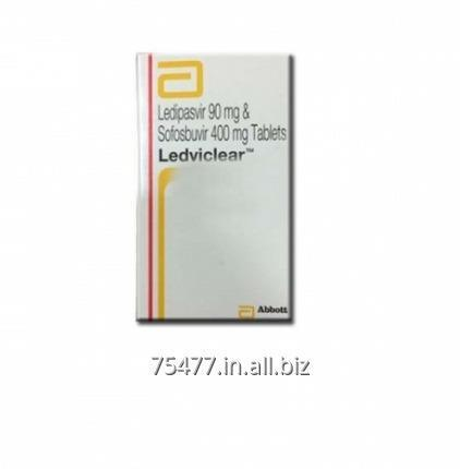 Buy Ledviclear Ledipasvir Sofosbuvir Tablets