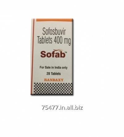 Buy Sofab 400 mg Sofosbuvir Tablets Ranbaxy