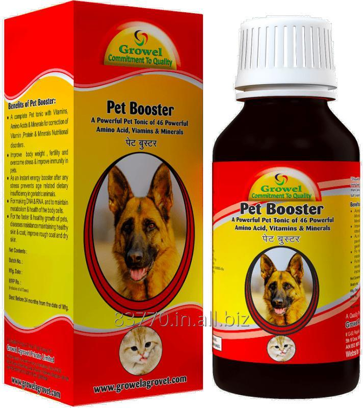 Buy A Dog & Pet Tonic of 46 Powerful Amino Acid, Vitamins & Minerals.