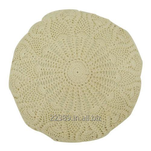 Buy Full Lace Round Cushion Cover