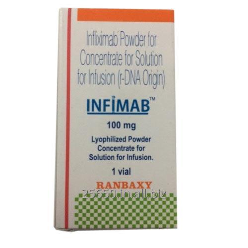 Buy Infimab Infliximab 100 mg Ranbaxy Injection Supply India