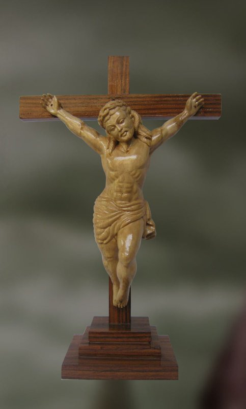 Buy  Jesus Christ: The Anointed One-Wood Sculpture