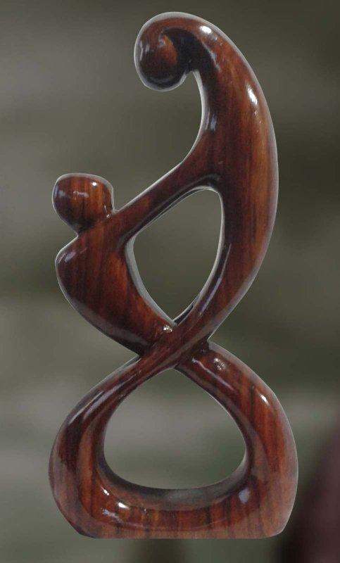 Buy Sayujya: The Intimate Union-Wood Sculpture