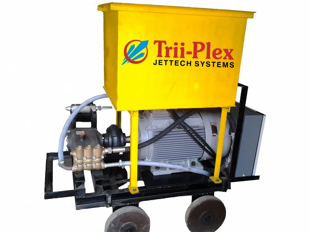 Triplex High Pressure Pumps for Tube Cleaning, Hydro Testing, Water Blasting