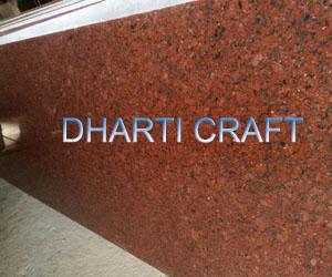 Indian Red Granite tiles slabs steps buy in Jaipur
