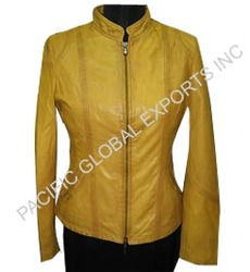 Slim Fit Women Leather Jacket