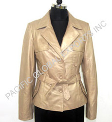Formal Long Leather Coat