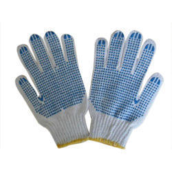 Buy  PVC Dotted Gloves