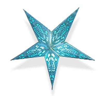 Christmas Star Decoration, (24*24*4 inches,Multi)