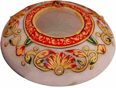 Marble Round Ashtray, Multicolor (ashtray03)