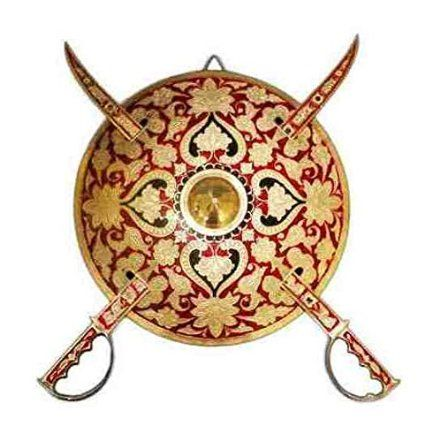 Dhal Talwar Shield Sword wall hanging