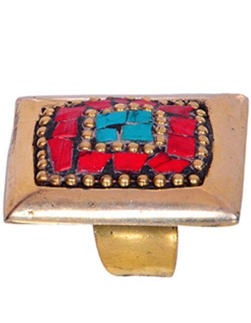 """Buy Vintage Collection Cocktail Ring For Women """"Golden Dreams"""" (30015)"""