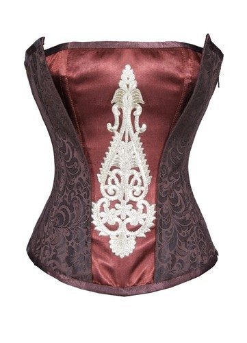 Buy Gothicana Flap Steampunk Overbust Corset