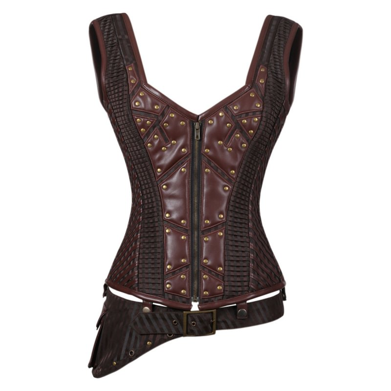 Buy Annemieke Steampunk Authentic Steel Boned Overbust Corset