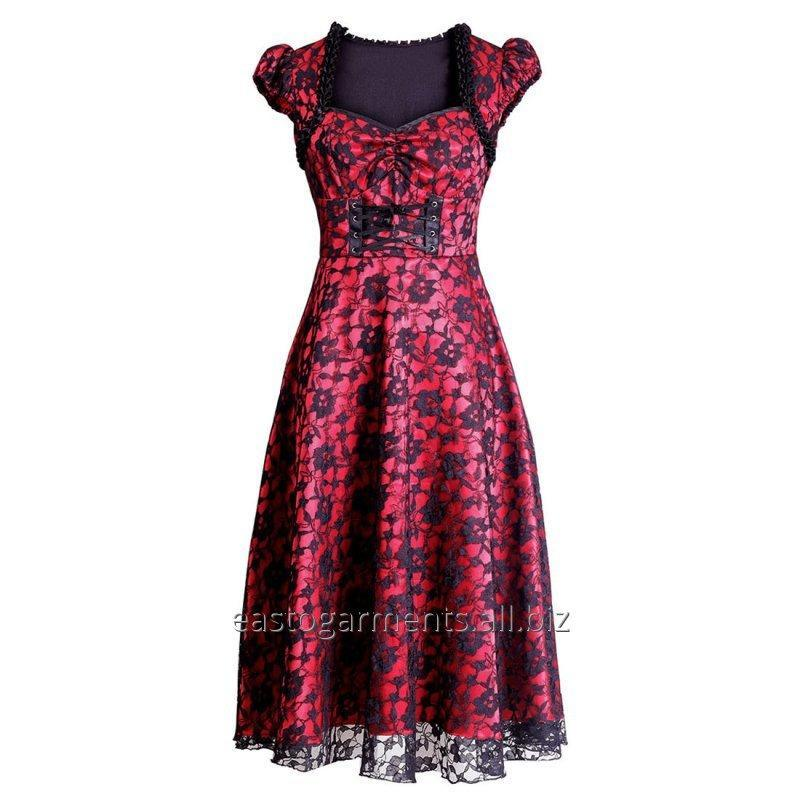 Buy Balbina Gothic Burlesque Dress