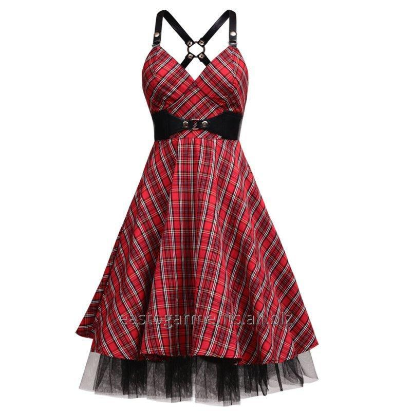 Buy Mirabilis Kneelength Rockabilly Dress