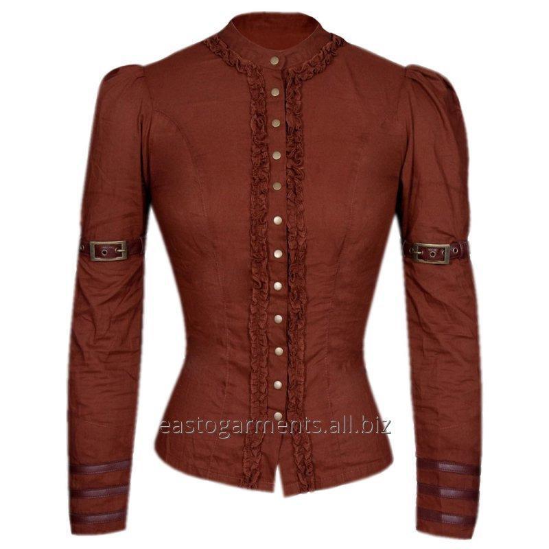 Buy Irene Steampunk Full Sleeve Top