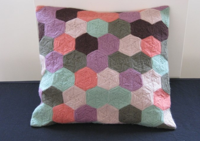 Buy Chain Stitch Cushion Cover