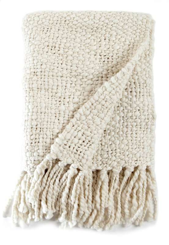 Buy Wool Knit Throw