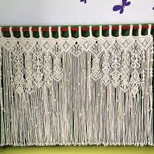 Buy Designer Macrame Curtain
