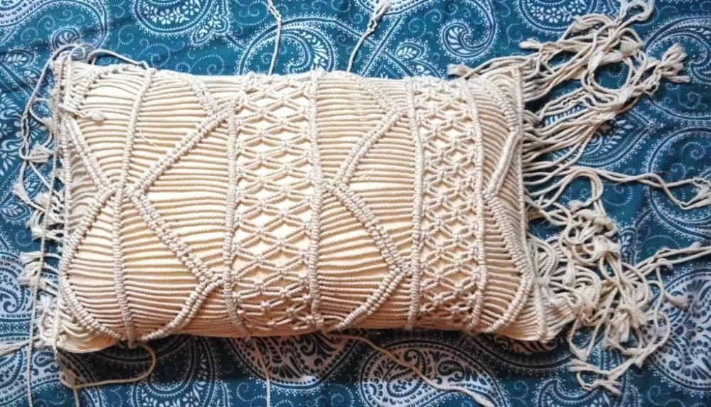 Buy Macrame Cushion Cover