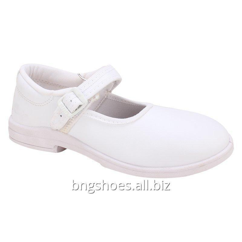 WHITE SCHOOL SHOES (8X10), (11X13)