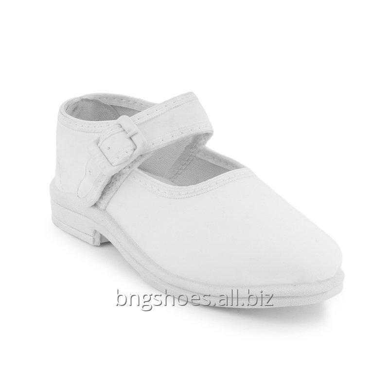 WHITE SCHOOL SHOES (6X8)