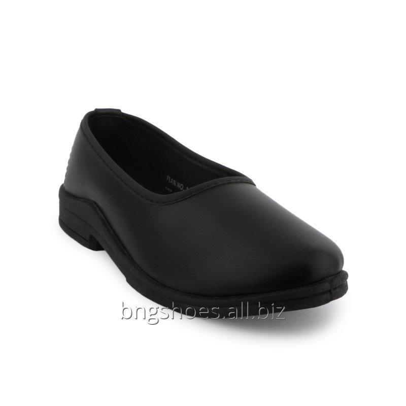 BLACK SCHOOL BELLY SHOES (8X10), (11X13)