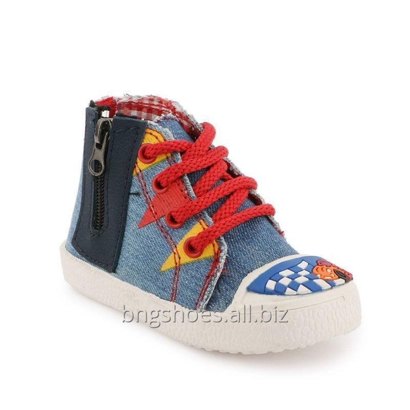 BLUE-RED KIDS SHOES