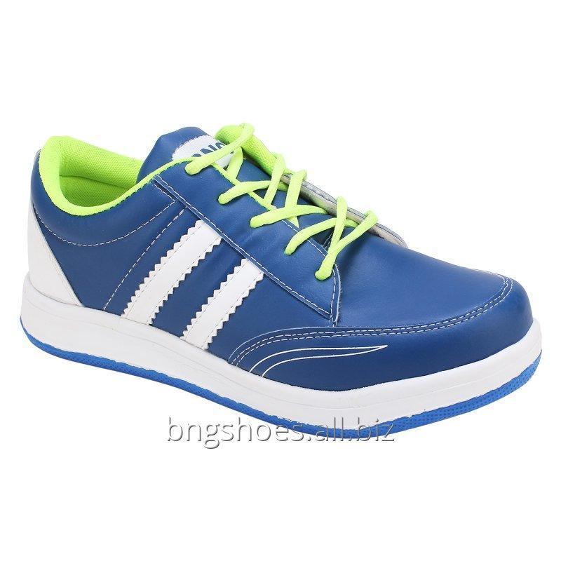 WHITE-PARROT GREEN SPORTS SHOES