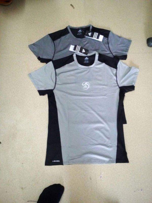 Buy Black-Grey Sport T-Shirts