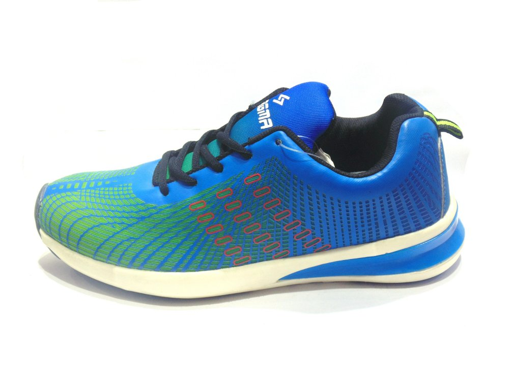 Green-Blue Sports Shoes