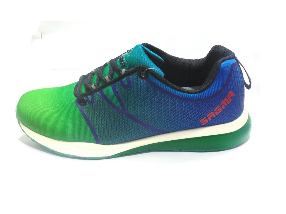 Buy Green-Blue Sports Shoes
