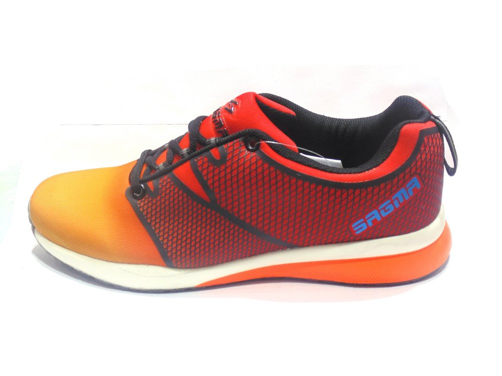 Red-Yellow Sports Shoes