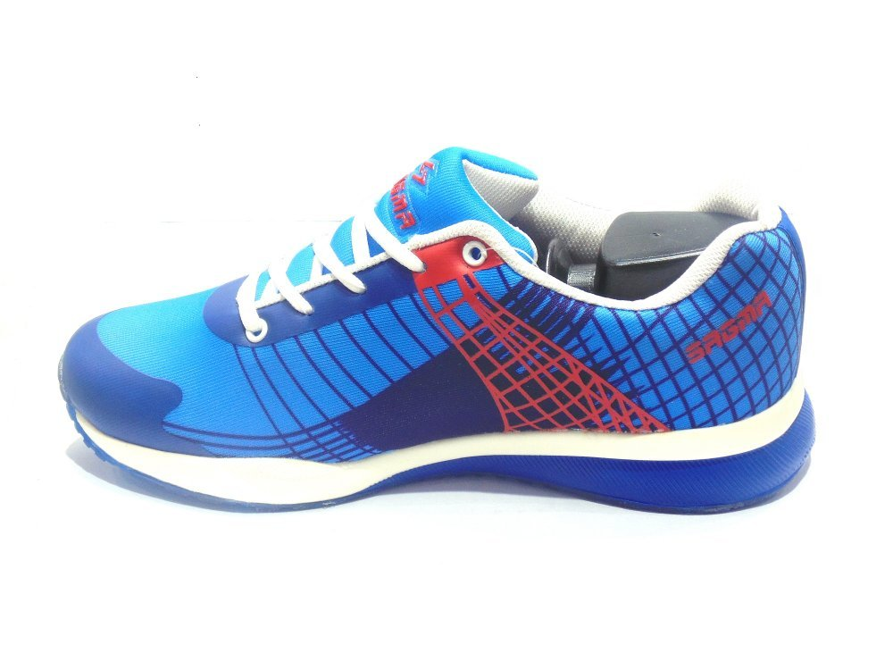 Buy Blue-Red Sports Shoes