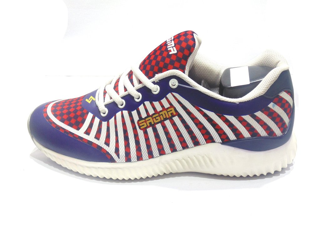 Blue-Red Sport Shoes