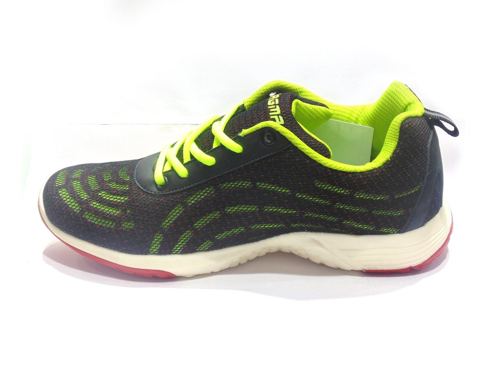 Buy Green-Black Hybrid Sport Shoes