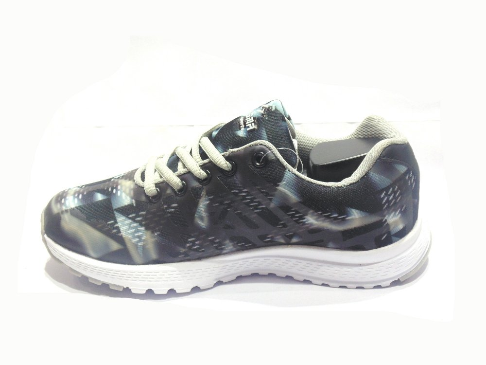 Black-Grey Women's Sport Shoes
