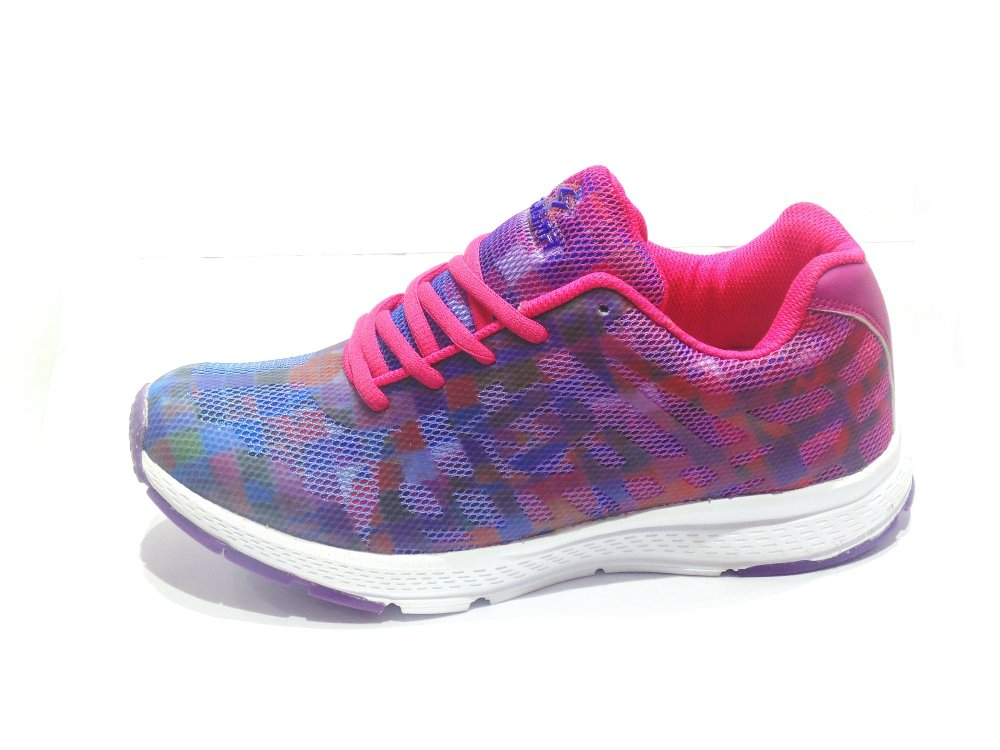 Purple-Pink Women's Sports Shoes