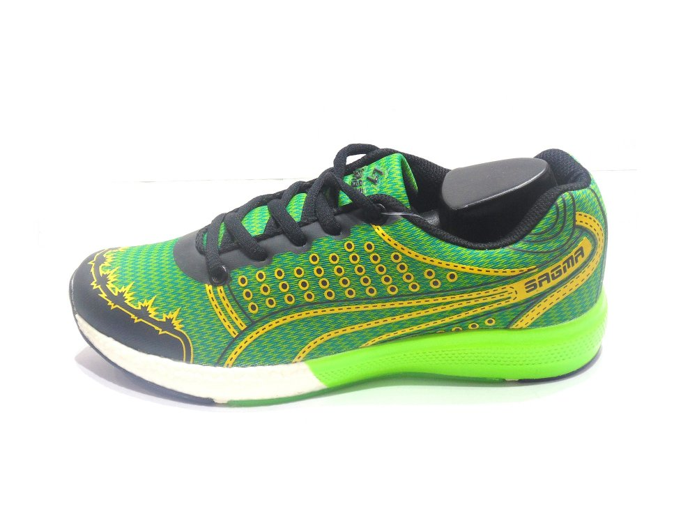 Green-Yellow Women's Sport Shoes