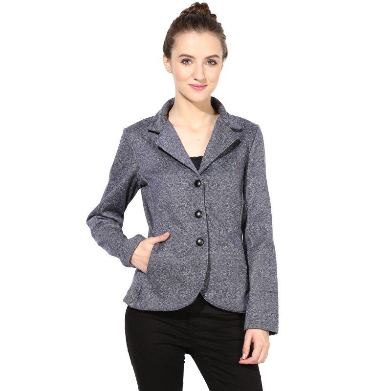 Blue polar fleece jacket